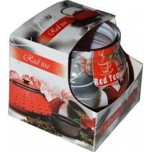 Sviečka Miral red tea