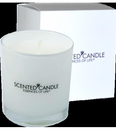 Parfumovaná sviečka premium white