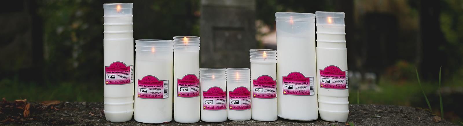 dekoračné sviečky